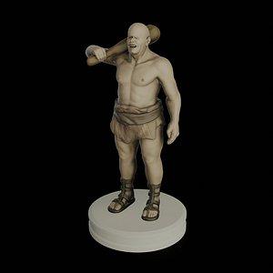 3D model cyclops homer