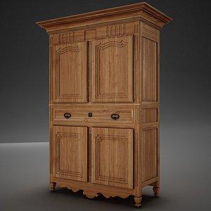 3D wardrobe antique