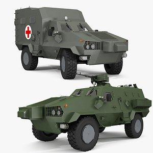 Dozor-B collection 3D model