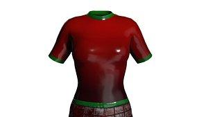 Ruby Bodysuit 3D model