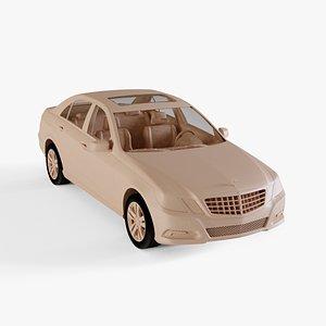 3D model 2010 Mercedes-Benz E-class