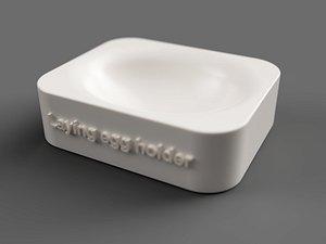 egg holder 3D model