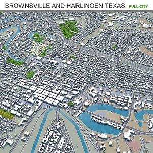 3D Brownsville  Harlingen Texas USA