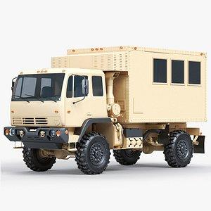 3D model Military Van Truck FMTV M1079