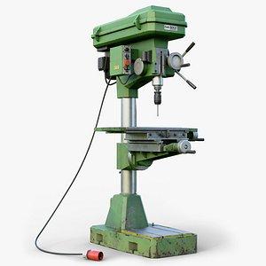3D model gameready lod press