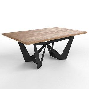 table quinn 3D model