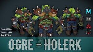Stylized Ogre - Holerk 3D model