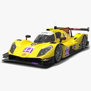 3D ARC Bratislava Ginetta G61-LT-P3 Le Mans 2021 LMP3 Prototype