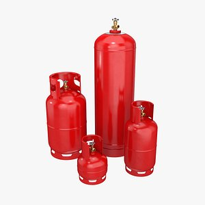 gas cylinders model