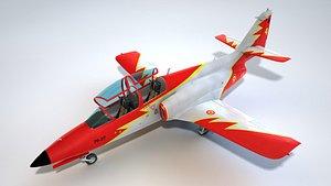 CASA C-101 Aviojet 3D model