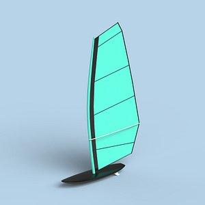 Windsurf board model