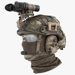 3D Tactical Military Helmet