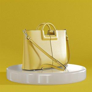 3D model Zara bag