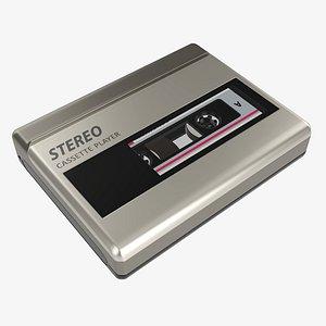 player tape 3D model
