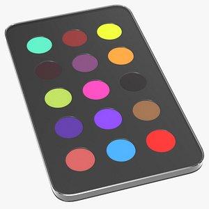 colors pallet model