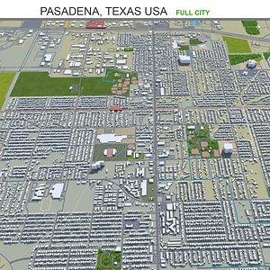 3D Pasadena Texas USA model