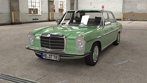 1968 1975 Mercedes Benz W115 3D