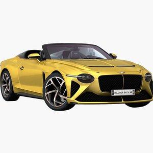 Bentley Mulliner Bacalar 2021 Low Interior 3D model