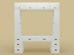 original furniture set 3D