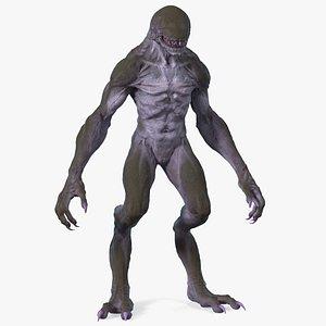 3D monster beast fantasy creature