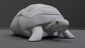 Tortoise Pillow 3D
