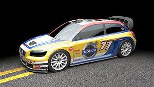supercar rallycross c30 3D model