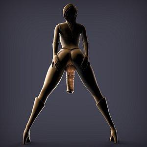 3D FUTA HORSEDICK 500k nsfw figurine