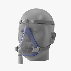 cpap mask 3D model