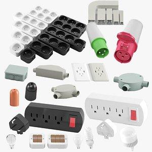 Electrical Kitbash 3D model