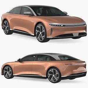Lucid Air 2021 Electric Luxury Sedan 3D model