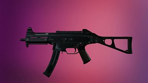 3D model weapon unreal engine