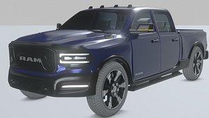 3D Dodge RAM 2020