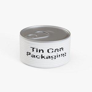 3D Tin Can 4