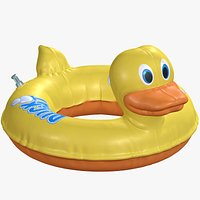 Inflatable Duck Pool Float Toy 8K