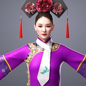 3D Princess of Qing Dynasty