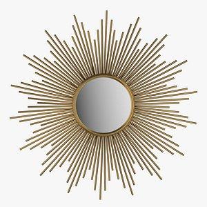 Decorative mirror Sun Soledad model