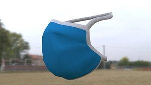 surgical mask 3D model