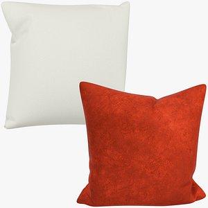 Sofa Pillows Collection V6 3D model