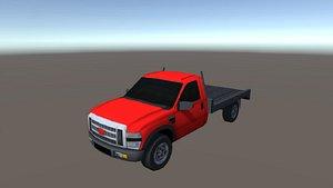 3D industry truck model