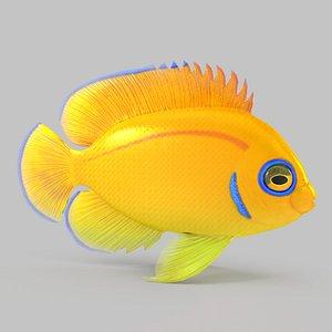 3D Lemon Peel Angel