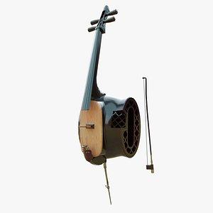 3D model Gehu Musical Instrument
