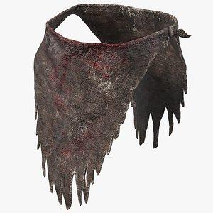 bloody loincloth clothes model