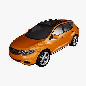 3D nissan murano 2011 model