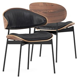 3D LUZ Leather chair