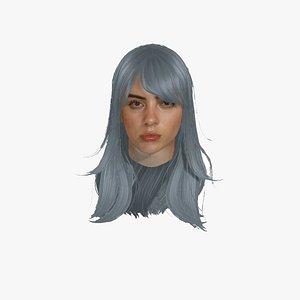 3D model Billie Eilish