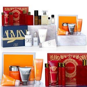 cosmetics brand 3D
