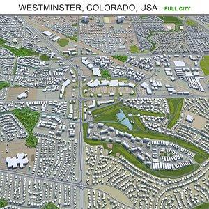 3D Westminster Colorado USA