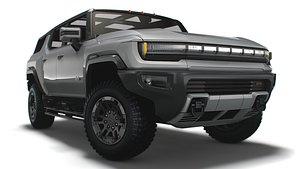 3D Hummer EV   GMC  SUV 2024