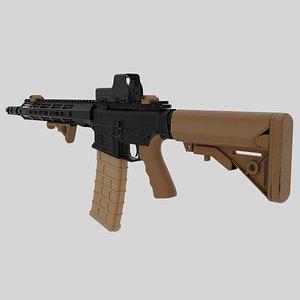 carbine rifle 3D model