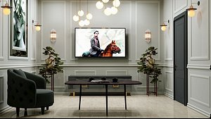 room tv ktv 3D model